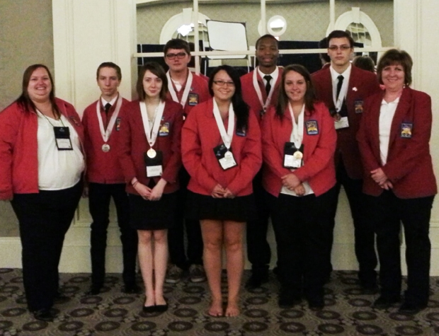 Students Honored at Skills USA KY State Competition