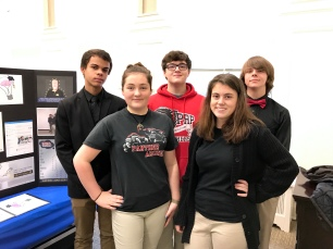 Team PRP Learn (L to R): William Mason, Brooklyn Burnett, Justin Bunch, Hailee Cannon, and Chase Slack